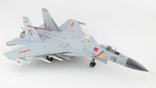 Hobby Master HA6402 Shenyang J-15 Flying Shark, PLANAF, Carrier Liaoning, 2017