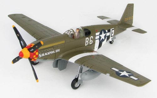 "Hobby Master HA8512 North American P-51B Mustang, 357th FG, 363rd FS ""Blackpool Bat"""