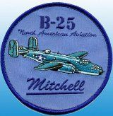 Patch B-25 Mitchell