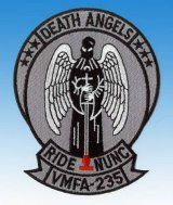 Patch Death Angels VMFA-235